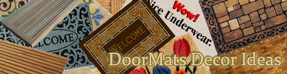 Indoor & Outdoor Door Mats for Home